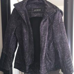 Jackets & Blazers - Guess rain thick coat
